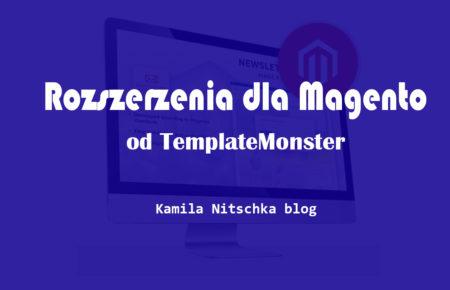 Rozszerzenia dla Magento od TemplateMonster