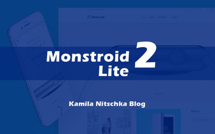 Monstroid 2 Lite od TemplateMonster