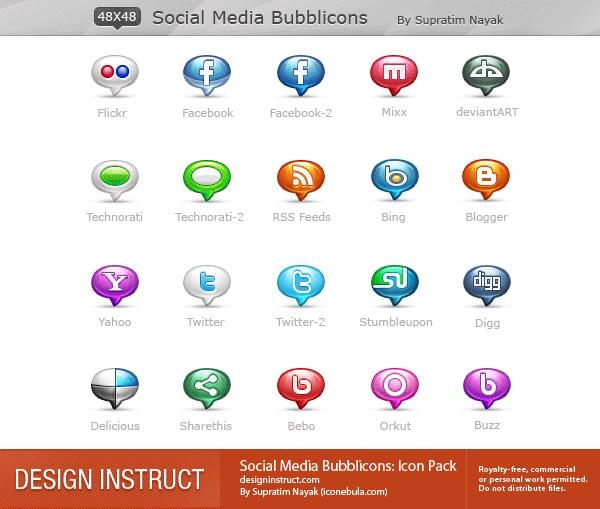 babelki-social-media-icony