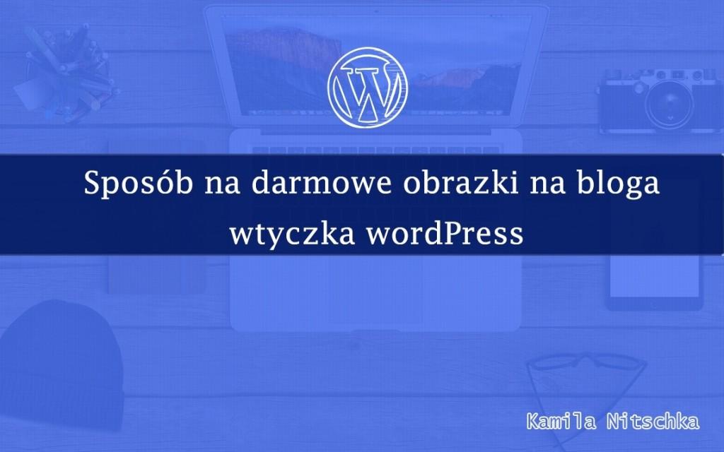 wtyczka wordpress darmowe obrazki na bloga