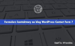 formularz kontaktowy wordpress contact form 7