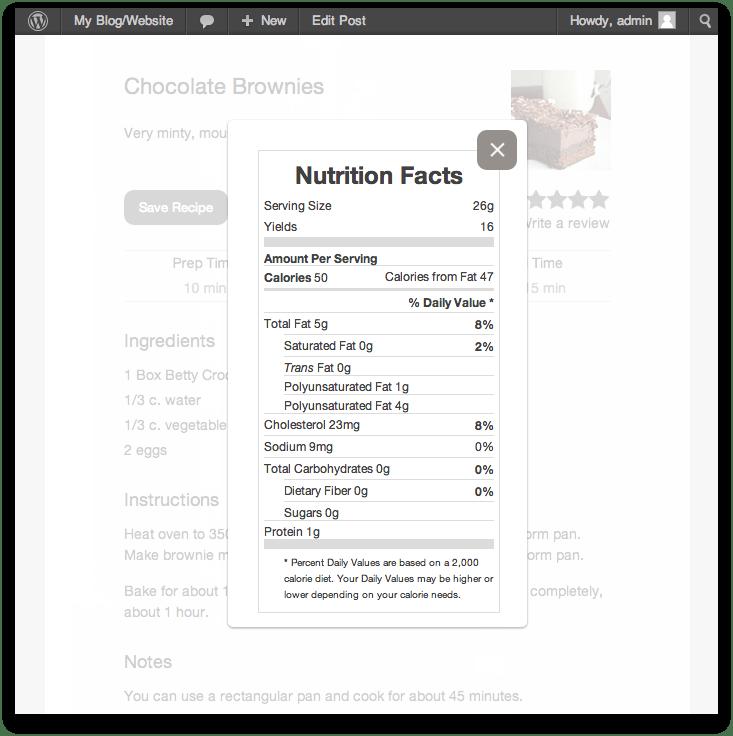 Ciekawa wtyczka WordPress dla blogów kucharskich