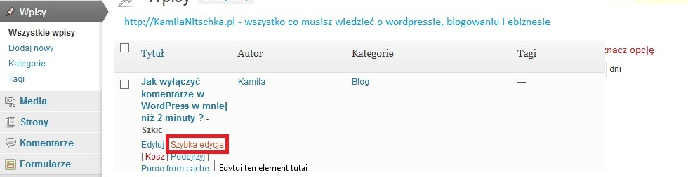 Jak wyłączyć komentarze w WordPress w mniej niż 2 minuty ?