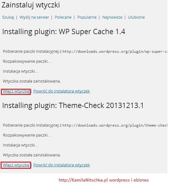 Jak zainstalować wiele wtyczek WordPress na raz cz.1