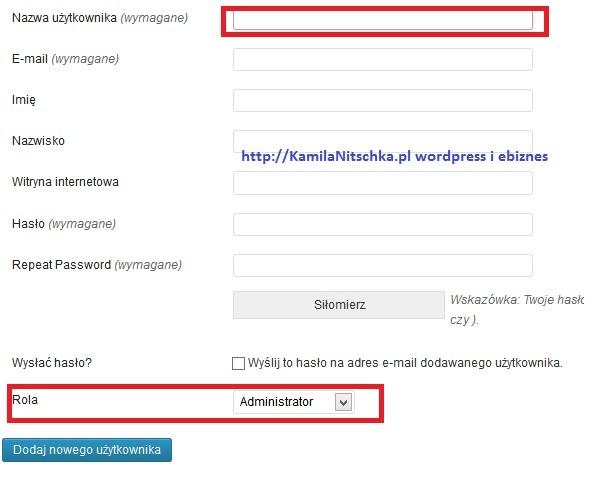 1 błąd i tracisz swojego bloga przez login admina