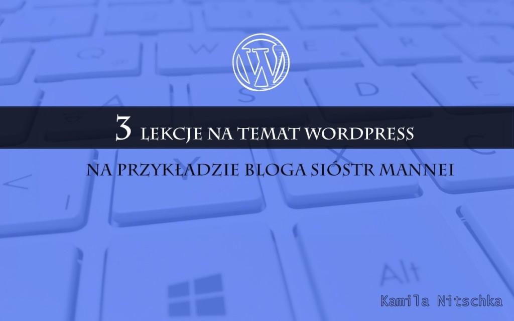 lekcje na temat bloga wordpress