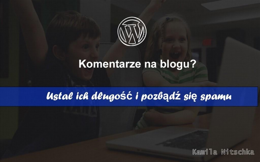 komentarze na blogu wordpress dlugosc
