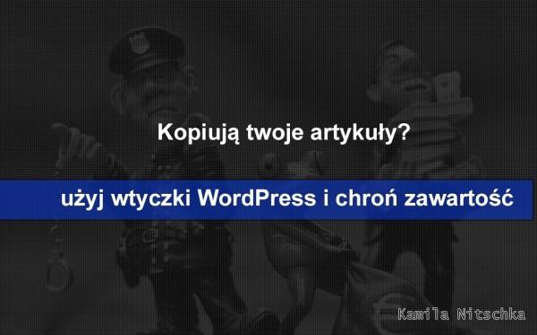 Kopiują twoje artykułu? użyj wtyczki WordPress cz.1