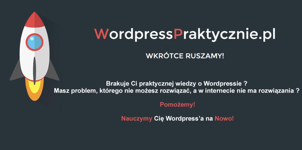 wordpress praktycznie