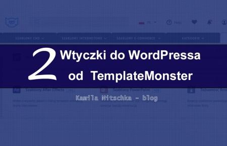 2 wtyczki WordPress od TemplateMonster