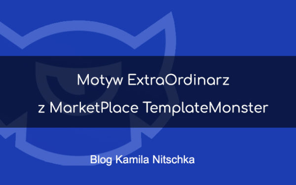 Motyw ExtraOrdinarz z MarketPlace TemplateMonster