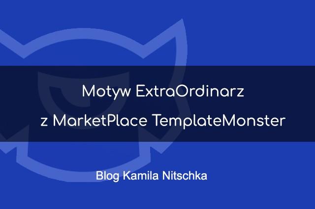 Motyw ExtraOrdinarz z MarketPlace TemplateMonster