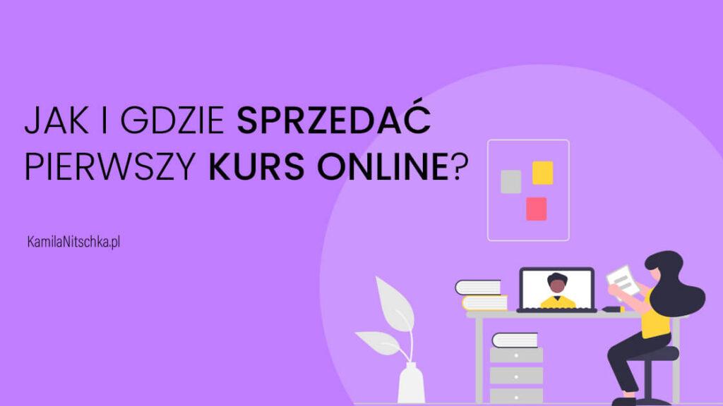 sprzedac kurs online